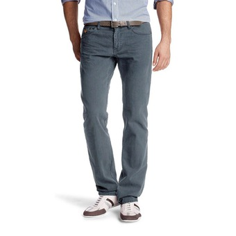 düşük bel gri kot pantolon