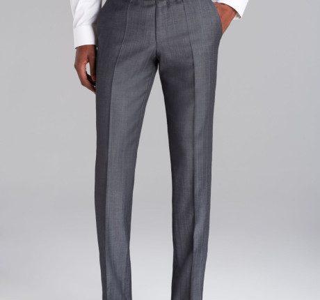gri pantolon – beyaz gömlek
