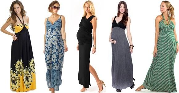 sıcak günler için hamile elbiseleri