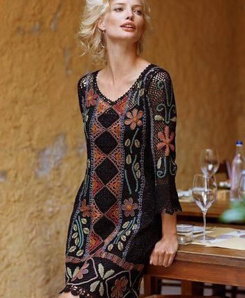 8e742897021e0 bohem tarzı desenli elbise – Binkelam