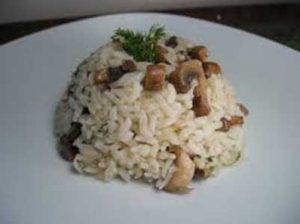 mantarlı pirinç pilavı