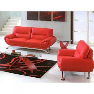 kırmızı koltuk takımı resimleri