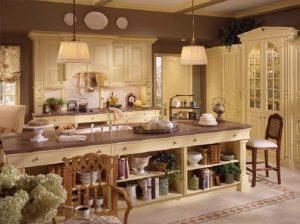 ingiliz country tarzı mutfak düzenlemesi