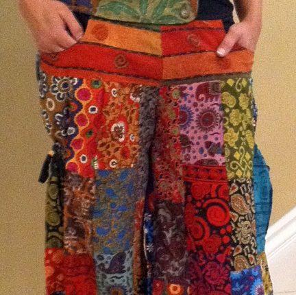 patchwork pantolon modelleri