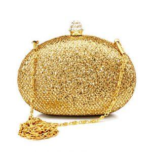 altın rengi abiye çanta modelleri