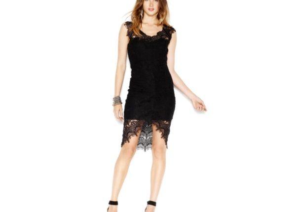 siyah parti elbisesi