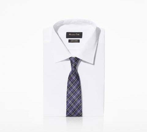 desenli mavi kravat