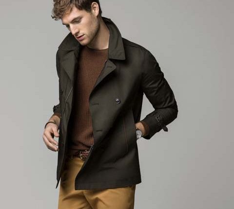 haki erkek ceket modelleri