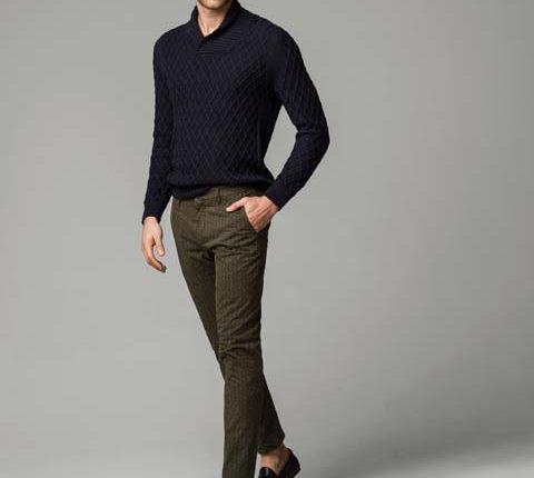 massimo dutti desenli erkek pantolon