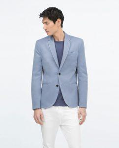 mavi erkek blazer