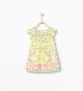 zara kız bebek elbise modelleri