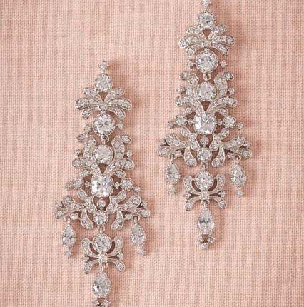 crystal earring