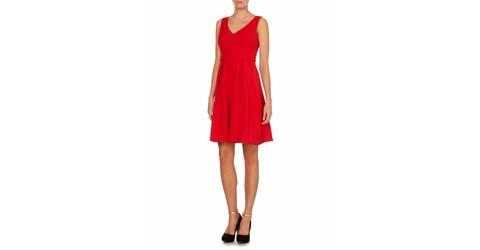 kırmızı kokteyl elbisesi