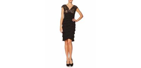 siyah kokteyl elbisesi modelleri