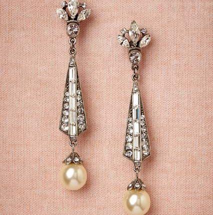 spire earrings at bhldn