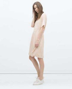 zara romantic dress