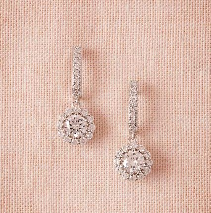 zirconia earring