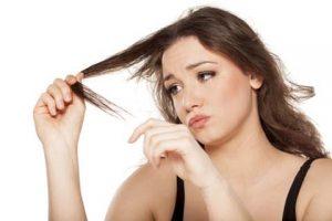 hasar görmüş saçlar