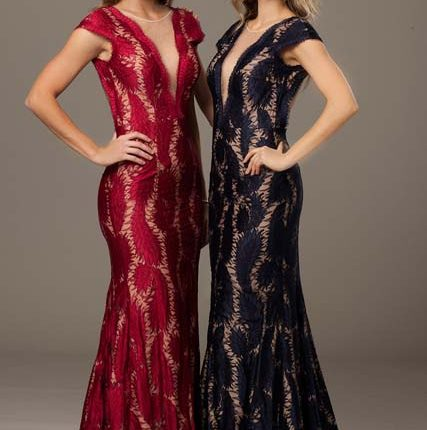 jovani lace dresses 2015