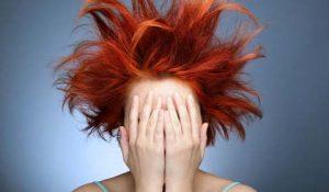 yanmış ve yıpranmış saçlar