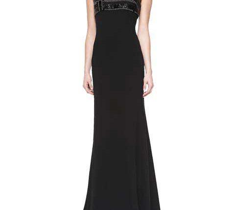 bergdorf goodman black evening dress