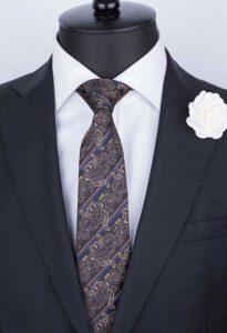 şal desenli kravat-kravatkolik