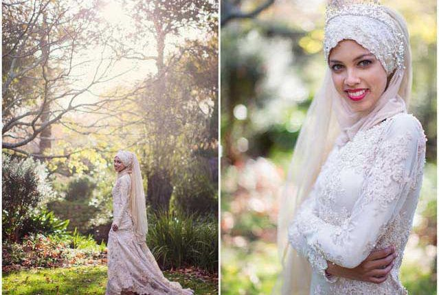 hand beaded wedding dress