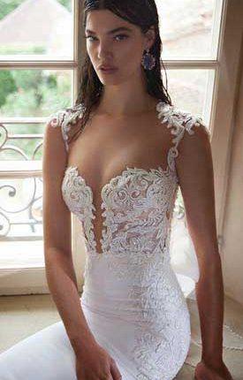 sexy Berta wedding dress