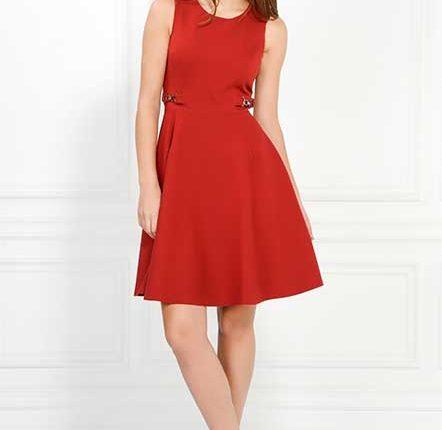 Adil Işık kırmızı elbise
