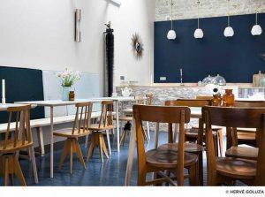 Hotel Henriette kahvaltı salonu