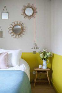 Hotel Henriette yatak odası dekorasyonu