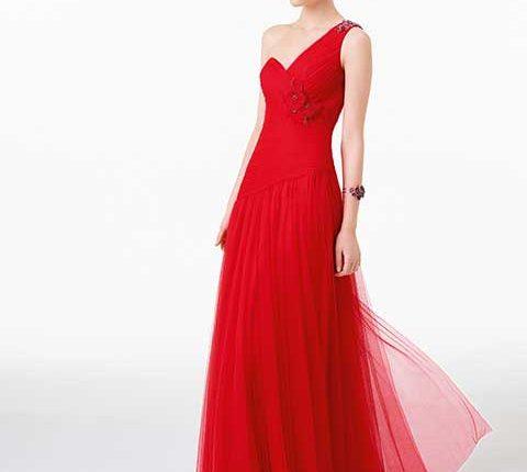 kırmızı yılbaşı elbiseleri 2016