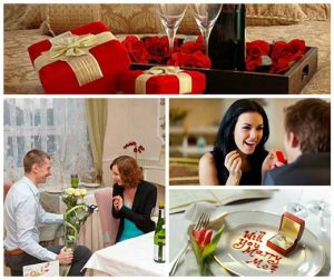 Sevgililer Gününde evlilik teklifi