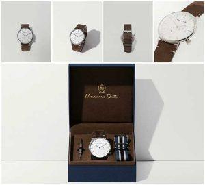 erkeğe hediye-çift kayışlı saat