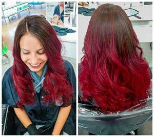 ombre hair color ideas