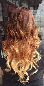 ombre saç renkleri