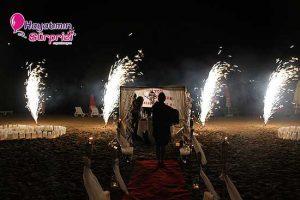istanbul kumsalda evlilik teklifi